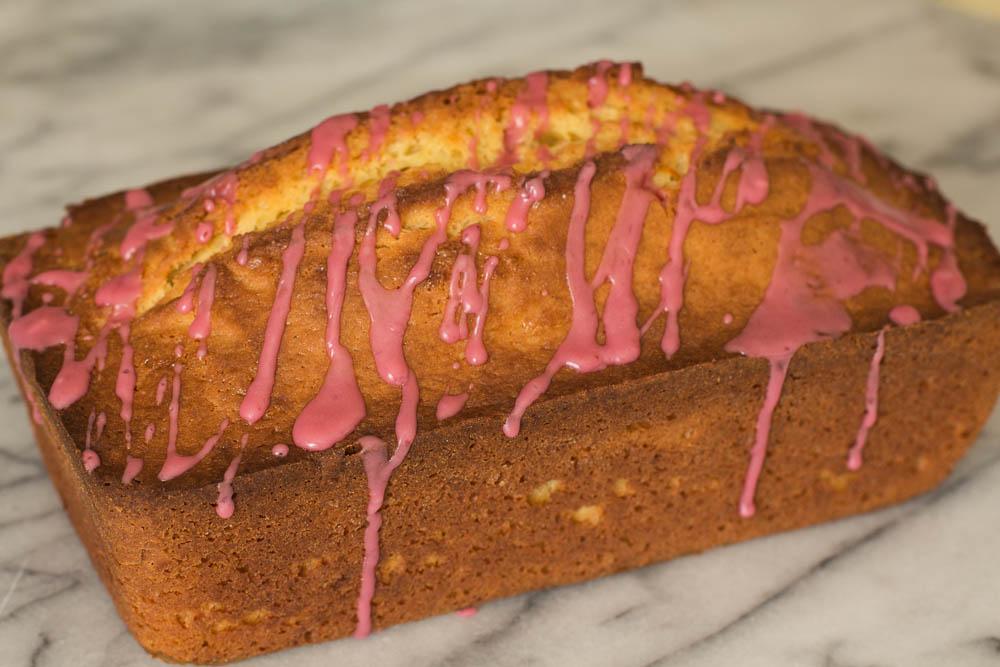 Bay Leaf Pound Cake With Orange Glaze