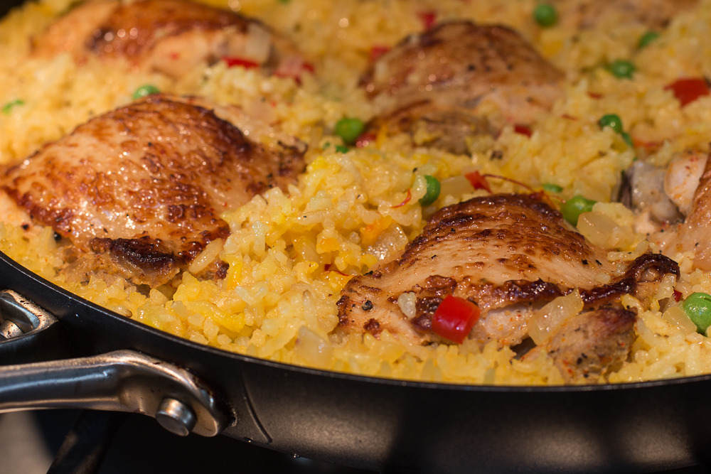 Chicken & Saffron Rice Stovetop