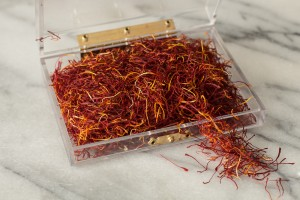 A treasure trove of saffron