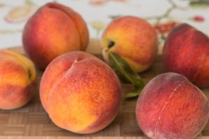 Variety of Peaches